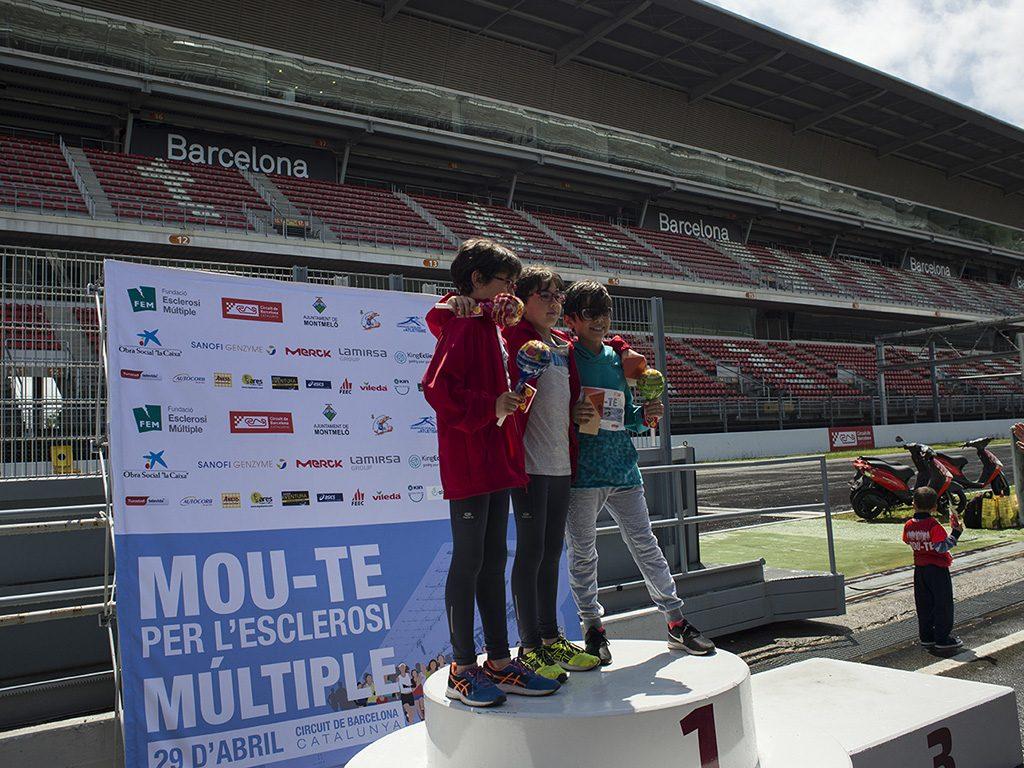 Mou-te per l'esclerosi múltiple al Circuit de Barcelona-Catalunya