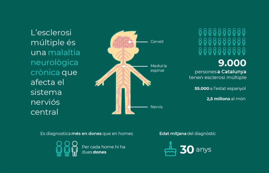 Les dades de l'esclerosi múltiple
