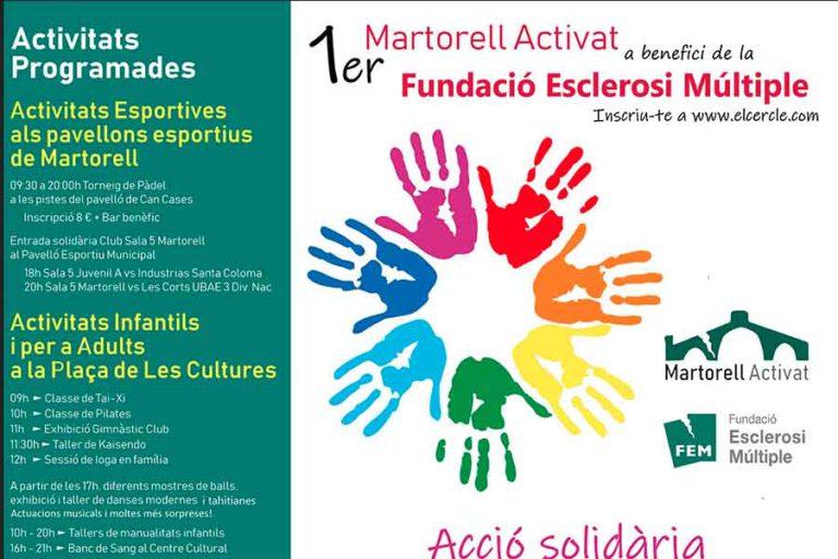 Martorell Solidari amb l'esclerosi múltiple
