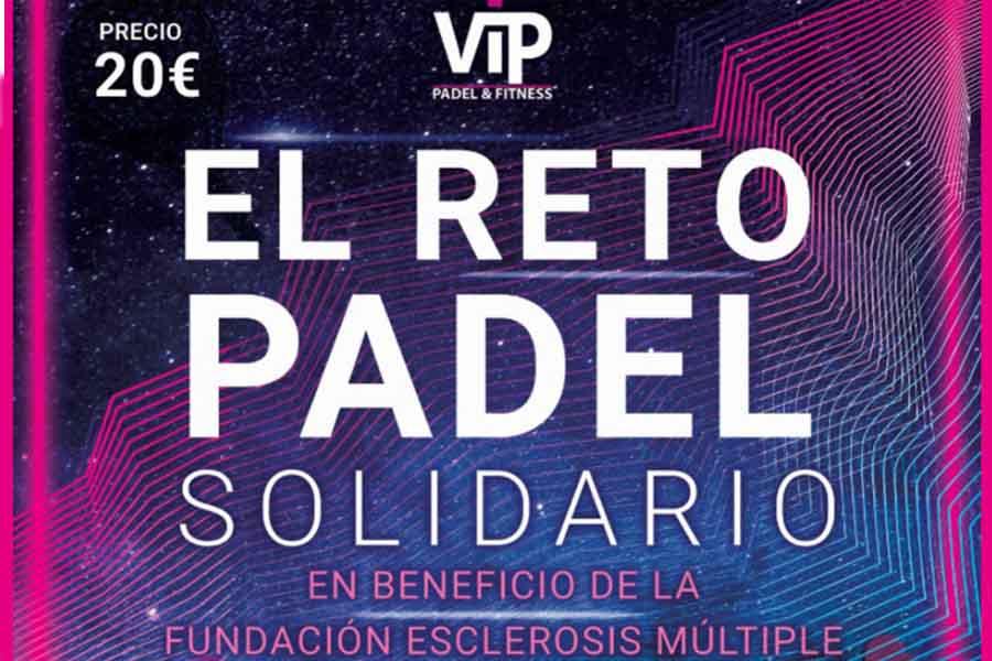 Padel solidario en Vilanova del Vallès