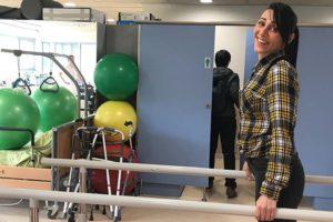 Sílvia Arilla té EM i fa neurorehabilitació a la Fundació Esclerosi Múltiple a Lleida