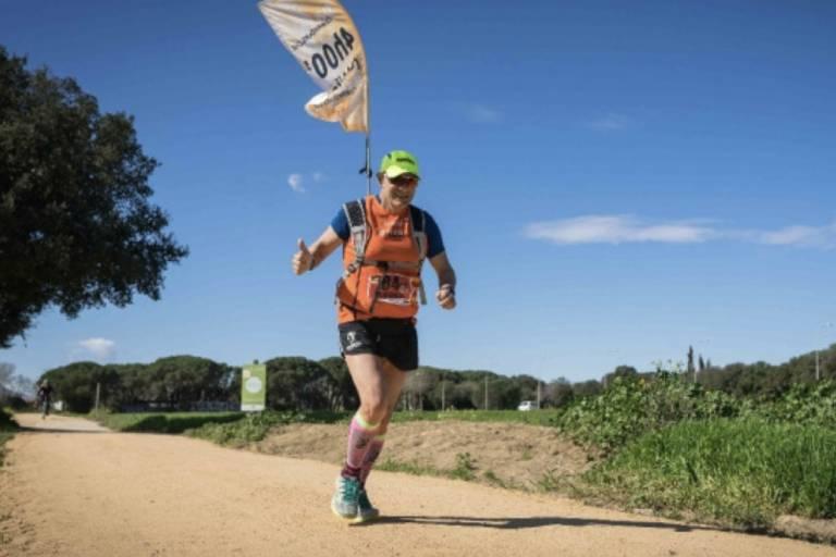 Marató confinada