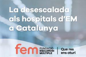 La desescalada als hospitals d'em