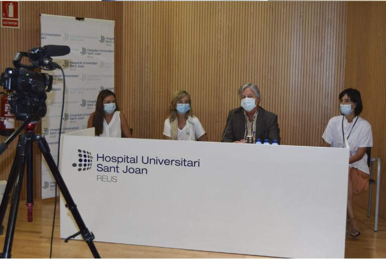 Acord amb l'hospital Sant Joan de Reus