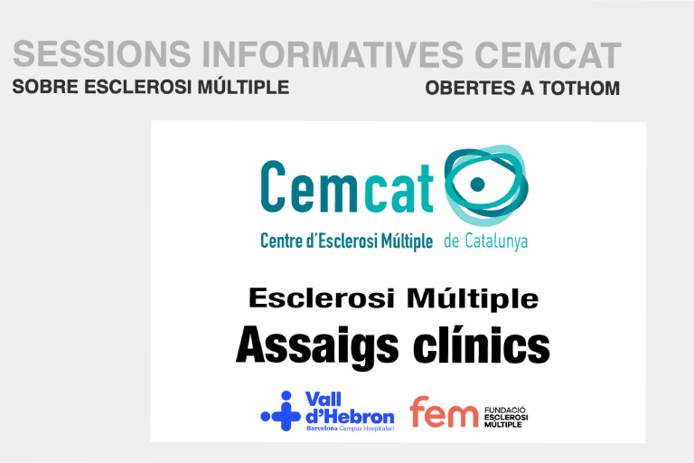 Sessió informativa sobre assaigs clínics i esclerosi múltiple