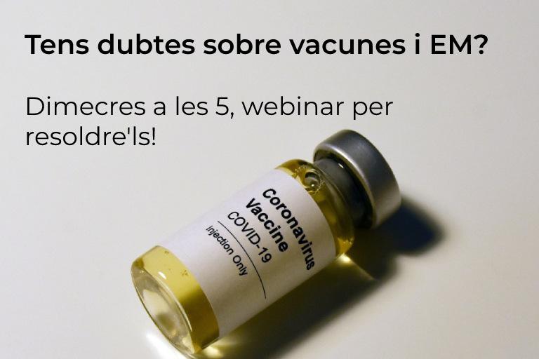 Parlem de vacunes de covid-19 i EM