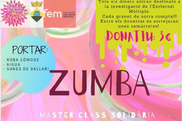 Zumba solidaria por la esclerosis múltiple