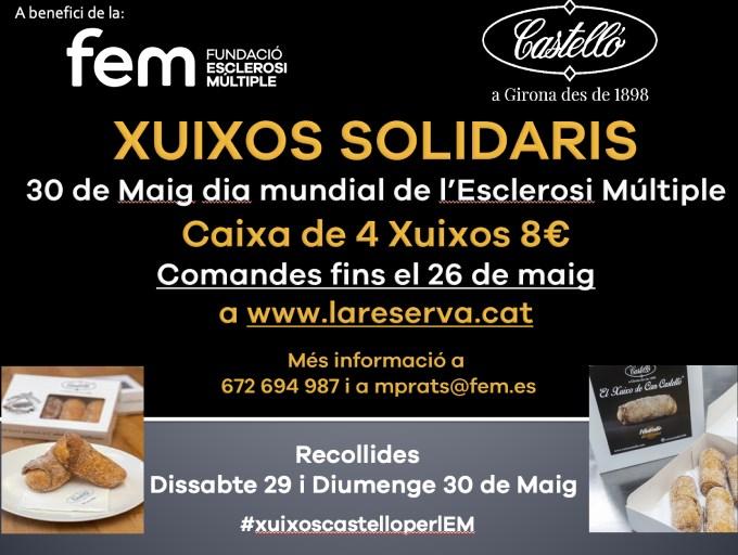 xuixos solidaris amb l'esclerosi múltiple Castelló