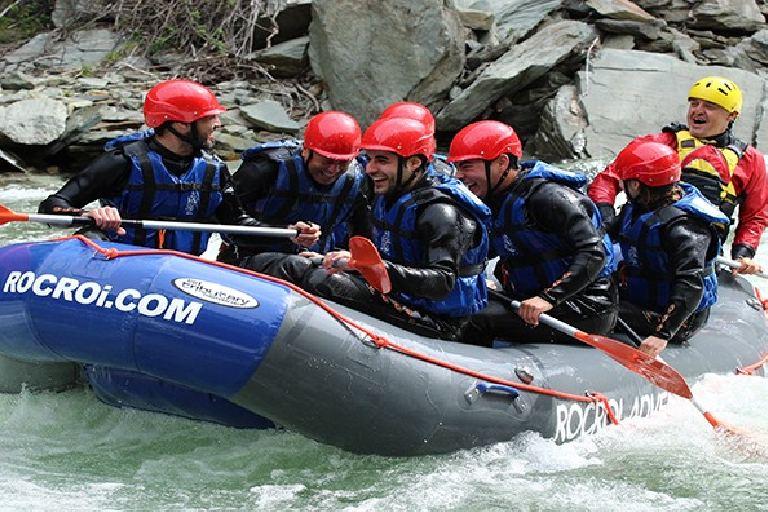 Rafting per l'EM amb Rocroi