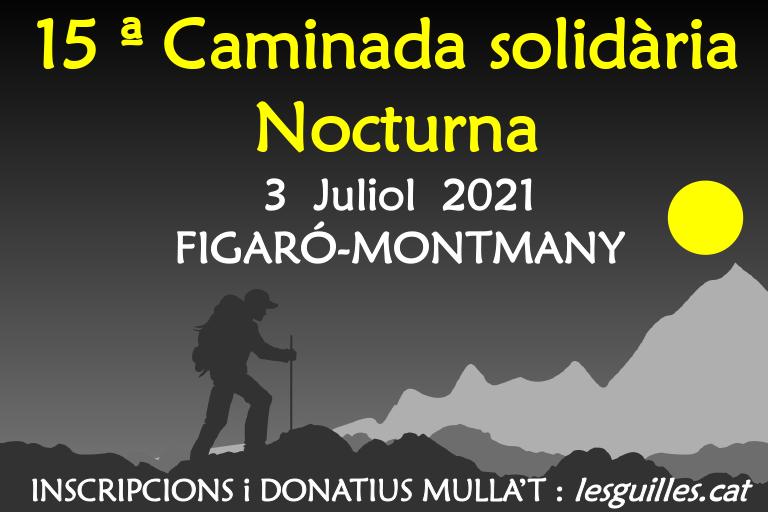 Caminada nocturna Figaró-Montmany